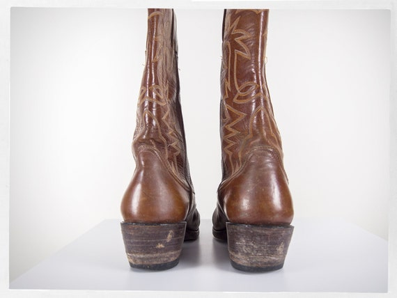 Vintage 70s Cowboy Boots, 80s Western Boots, 80s … - image 4