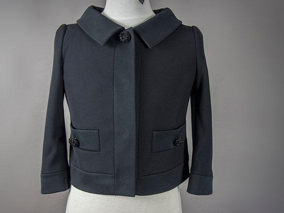 "Vintage 90s Jacket,90s  MOSCHINO Jacket, ""Jackie O"