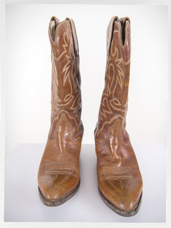 Vintage 70s Cowboy Boots, 80s Western Boots, 80s … - image 3