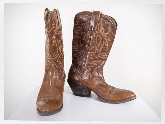 Vintage 70s Cowboy Boots, 80s Western Boots, 80s C
