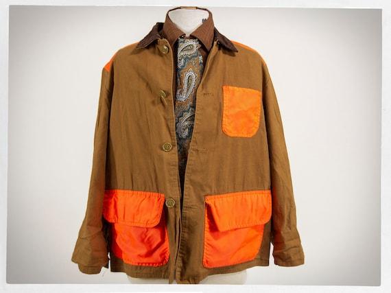 Retro Hunting Jacket, 70s Hunting Jacket, Retro Ch