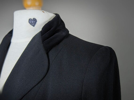 Vintage 40s Suit, Vintage 40s Fitted Suit, Fantas… - image 6