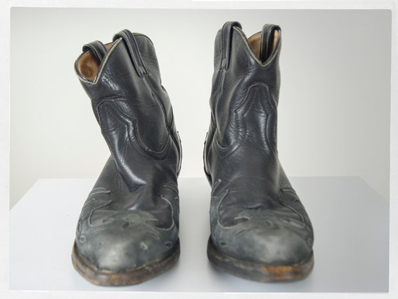 Vintage 90s Boots, 90s Cowboy Boots, 90s Western … - image 3