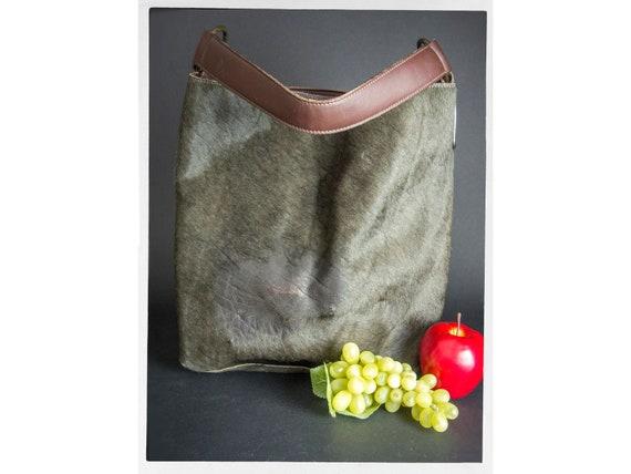 Vintage 80s Italian Bag, 80s Italian Shoulder Bag,