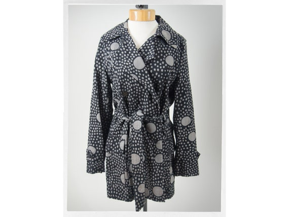 90s Style Coat, MARIMEKKO Trench Coat, Iconic 60s