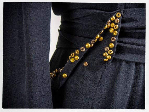 Vintage 40s Dress, 40s Dress, Vintage Fashion, 40… - image 4
