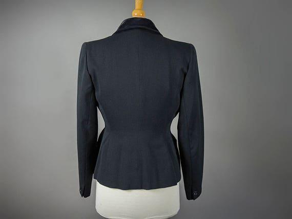 Vintage 40s Suit, Vintage 40s Fitted Suit, Fantas… - image 4