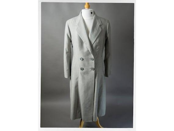 Vintage 50s Coat, Mad Men Style Coat, 50s Double B