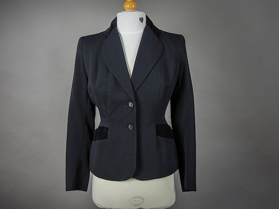 Vintage 40s Suit, Vintage 40s Fitted Suit, Retro 4