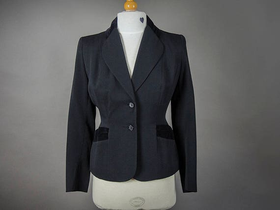 Vintage 40s Suit, Vintage 40s Fitted Suit, Fantast