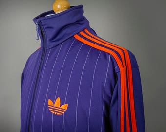 Retro 80's Style ADIDAS Jacket, Retro 80's Style Adidas Track Jacket, Retro 70's Style Adidas Track Jacket