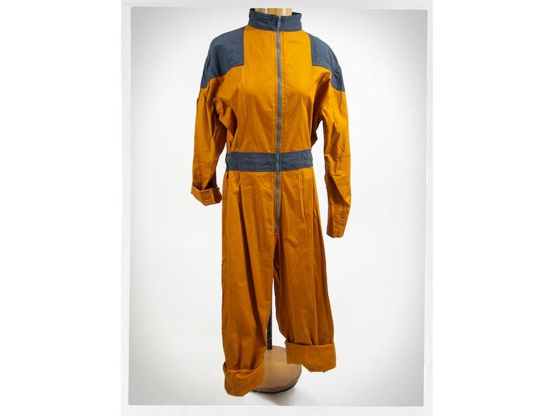 Retro Workwear Fashion Vintage 80s Coveralls Retro Coverall Boho Fashion Vintage Utility Fashion Vintage Fashion Workwear Coveralls