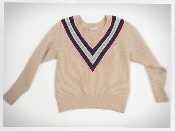 Wool Knit Sweater, SANDRO Jumper, Knit Wool Pullov