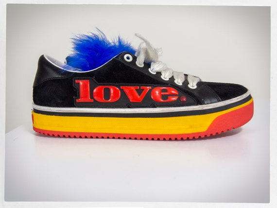 Retro Trainers, Cartoonish Trainers, MARC JACOBS R