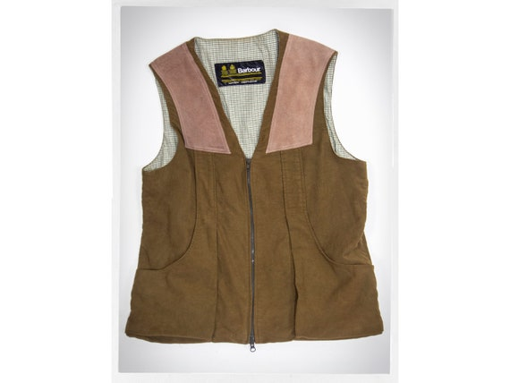 Retro Barbour Vest, BARBOUR Hunting Vest, British