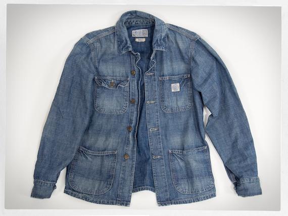 Retro Jean Jacket, Retro Barn Jacket, Vintage Barn