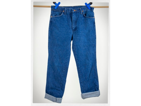 Vintage 70s Jeans, 70s High Rise Jeans, 80s WRANGL