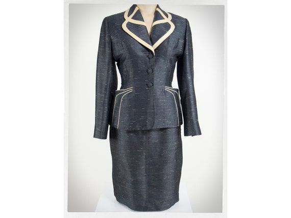 Retro 40s Suit, 40s Statement Suit, 40s Ladies Jac