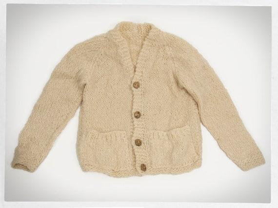 Hand Knit SWEATER, Handmade Wool Jumper, Wool Moha