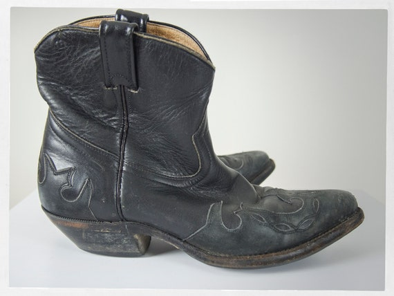 Vintage 90s Boots, 90s Cowboy Boots, 90s Western … - image 1
