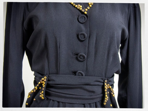 Vintage 40s Dress, 40s Dress, Vintage Fashion, 40… - image 6