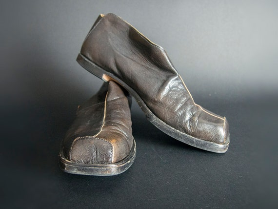 Handcrafted CYDWOQ Men's Leather Shoes, Handmade S