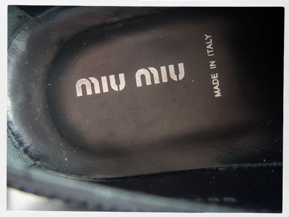 MIU MIU Shoes, Men's Miu Miu Shoes, Designer Shoe… - image 6