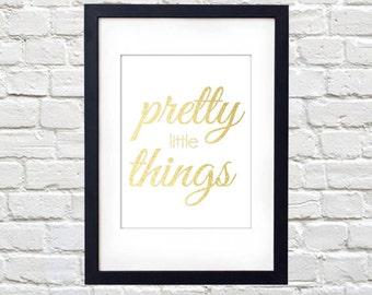 Pretty Little Things Printable