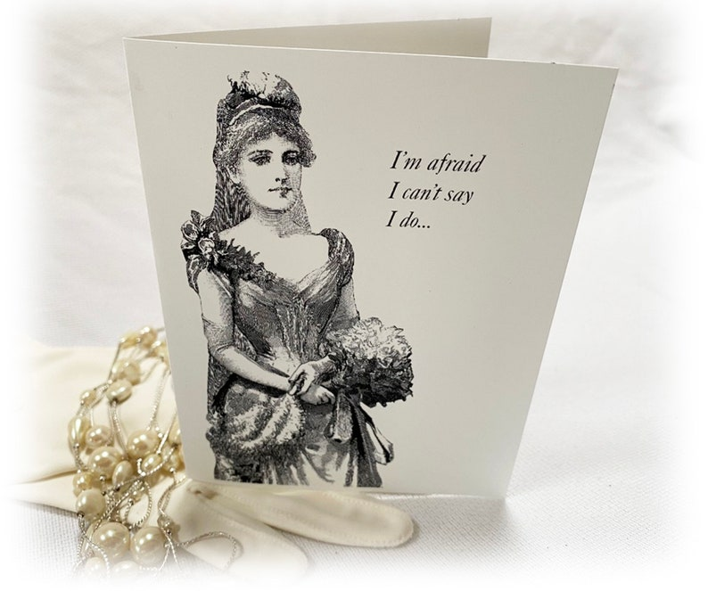 Maid of Honor Card Bridesmaid Proposal Steam Punk Victorian Black /& White Will you be my Bridesmaid