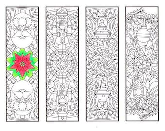 christmas coloring bookmarks christmas mandalas coloring for adults big kids and your resident bookworm adult coloring page