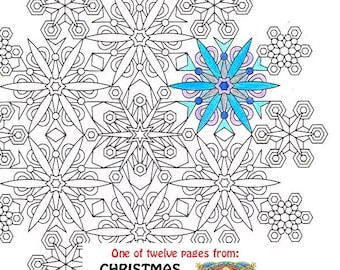 christmas mandala coloring page christmas morning printable christmas coloring page adult coloring pages santa festive toys