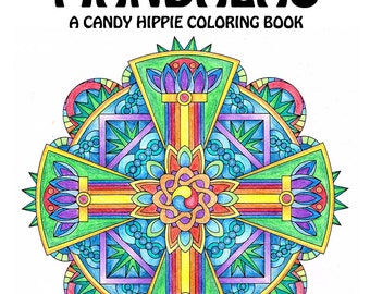 Vajra Mandalas Adult Coloring Book - printable mandala coloring book for adults and big kids - 12 adult coloring pages