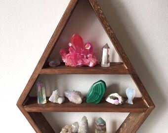 Large diamond shelf