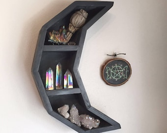 Cresent Moon Shelf