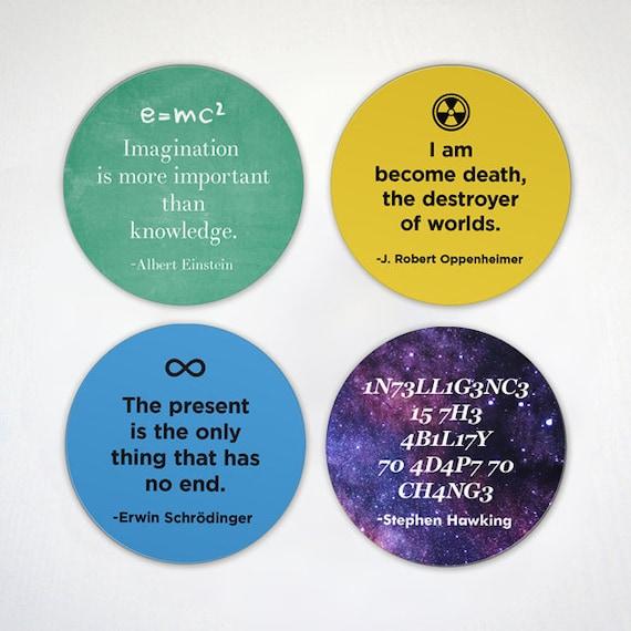 Célèbre Physicien Quotes Citations Scientifique Aimants Einstein Oppenheimer Hawking