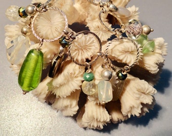 Ocean Bracelet, Abalone Bracelet & Glass/Crystal Bracelet to remind you of the ocean.