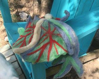 ooak needle felted Salty the sea dragon