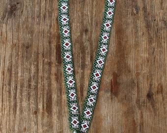 kuchi afghani pearl tribal indigene necklace boho hippie nomad gypsy