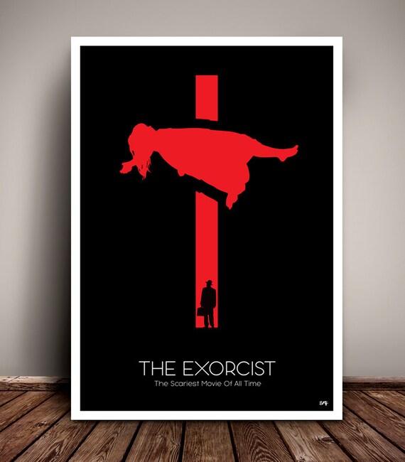 The Exorcist // Minimalist Movie Poster // Unique Art Print // Home Decor