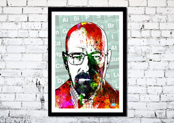 Breaking Bad // Walter White // Heisenberg // Unique Art Print