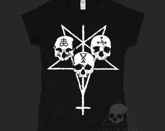 Unholy Trinity woman T-Shirt, Leviathan, Lucifer, Lilith