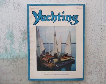 Yachting Magazine ~ February, 1946