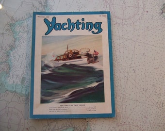Yachting Magazine ~ November, 1941