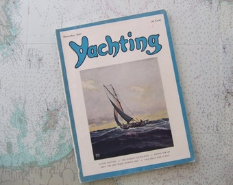 Yachting Magazine ~ November, 1947