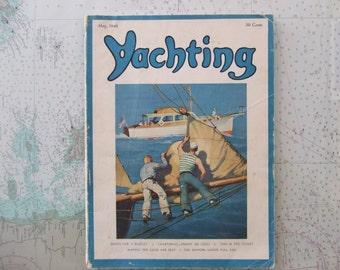 Yachting Magazine ~ May, 1946