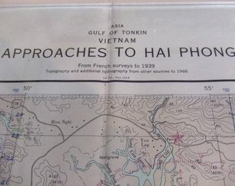 Approaches to Hai Phong ~ Gulf of Tonkin - Vietnam - Asia - Nautical Chart #6343