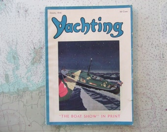 Yachting Magazine ~ January, 1946