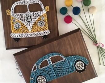 Volkswagon beetle or van