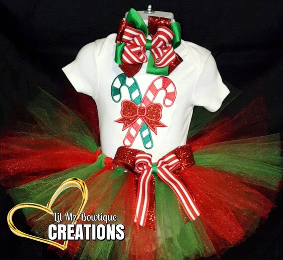 image 0 - Christmas Tutu Outfit Christmas Tutu Dress Christmas Shirt Etsy
