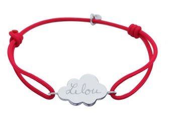 Bracelet child custom cloud